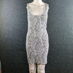 BeBe Razor-Back Bodycon Dress